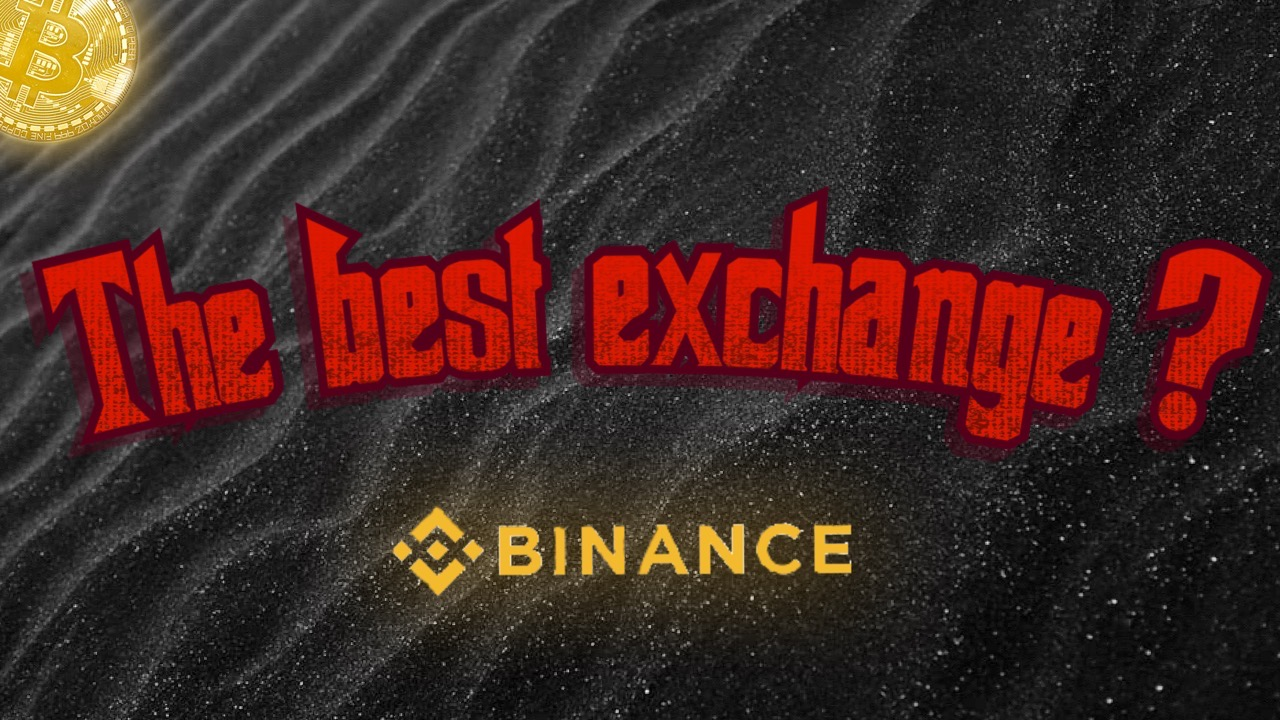 binance the best trading exchange