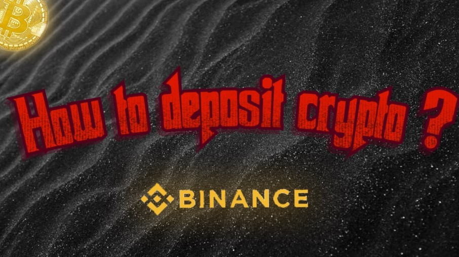 how to deposit crypto in binance