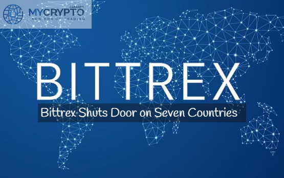 Bittrex ends to Operation in 7 Countries, Leaving users in Limbo