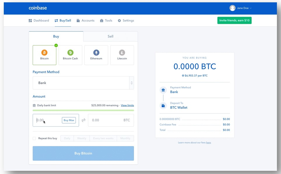 join a crypto exchange