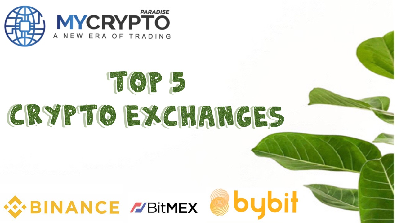 top 5 crypto exchanges