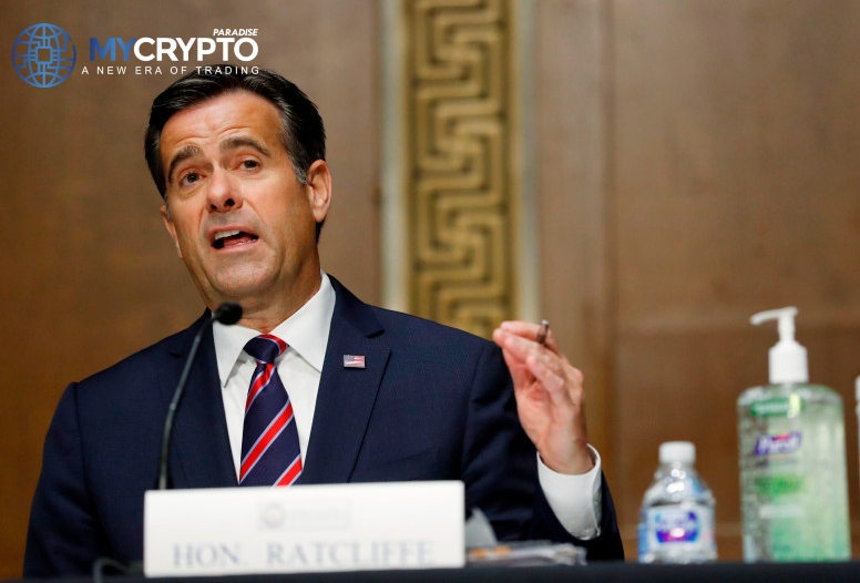 John Ratcliffe expresses concerns to the SEC about China's control over cryptocurrencies