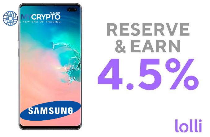 Samsung Renews a contract with Lolli (Bitcoin shopping app) to allow users earn BTC Reward