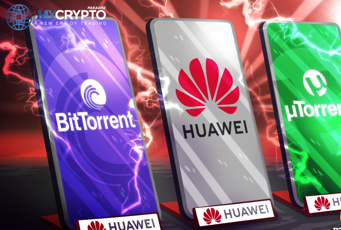 Huawei partners with BitTorrent to deliver services to up to 3 billion users