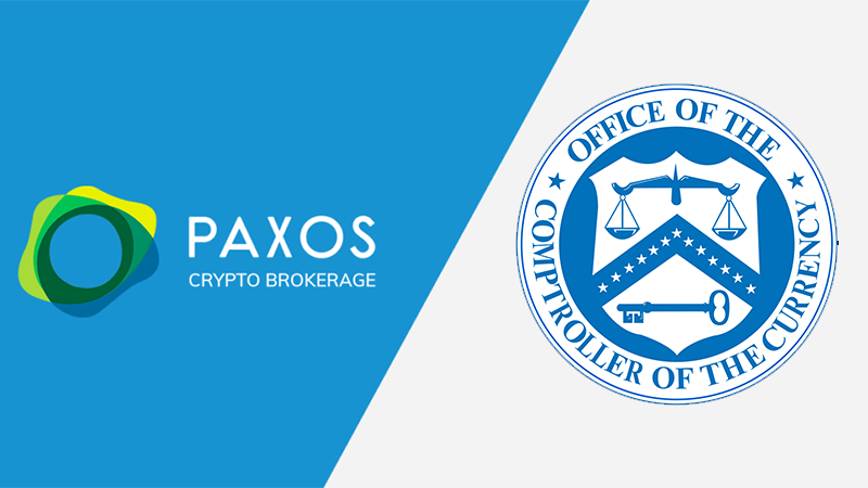 Paxos to Secure national bank Charter