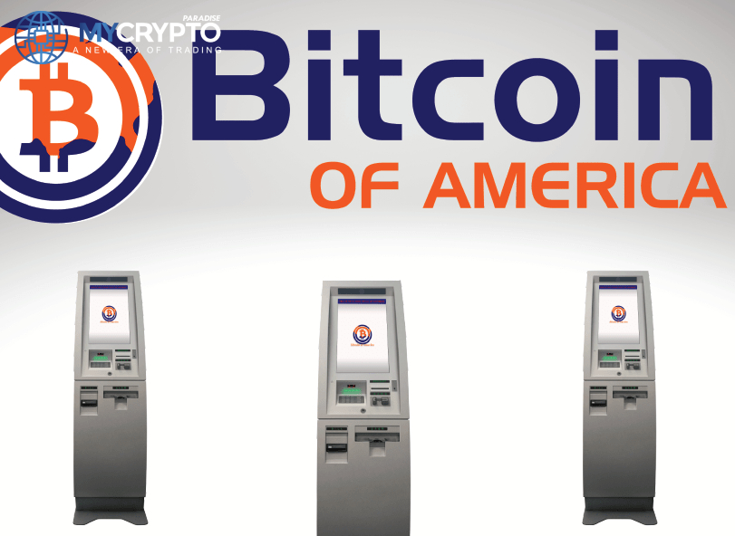 Bitcoin of America Expands to 600+ ATMs