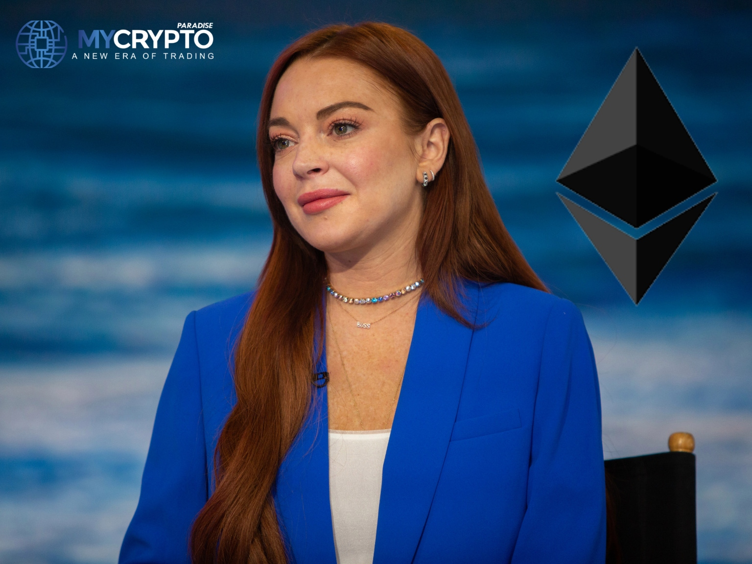 Lindsay Lohan to Give Away $10,000 Ethereum Using Her ETH 10 K'S NFTs