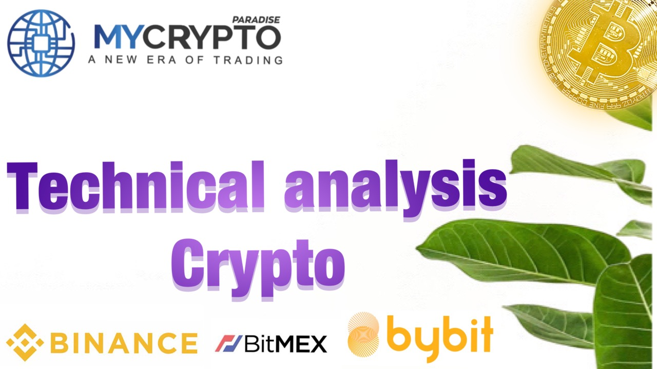 What are the key elements in performing technical analysis of a cryptocurrency