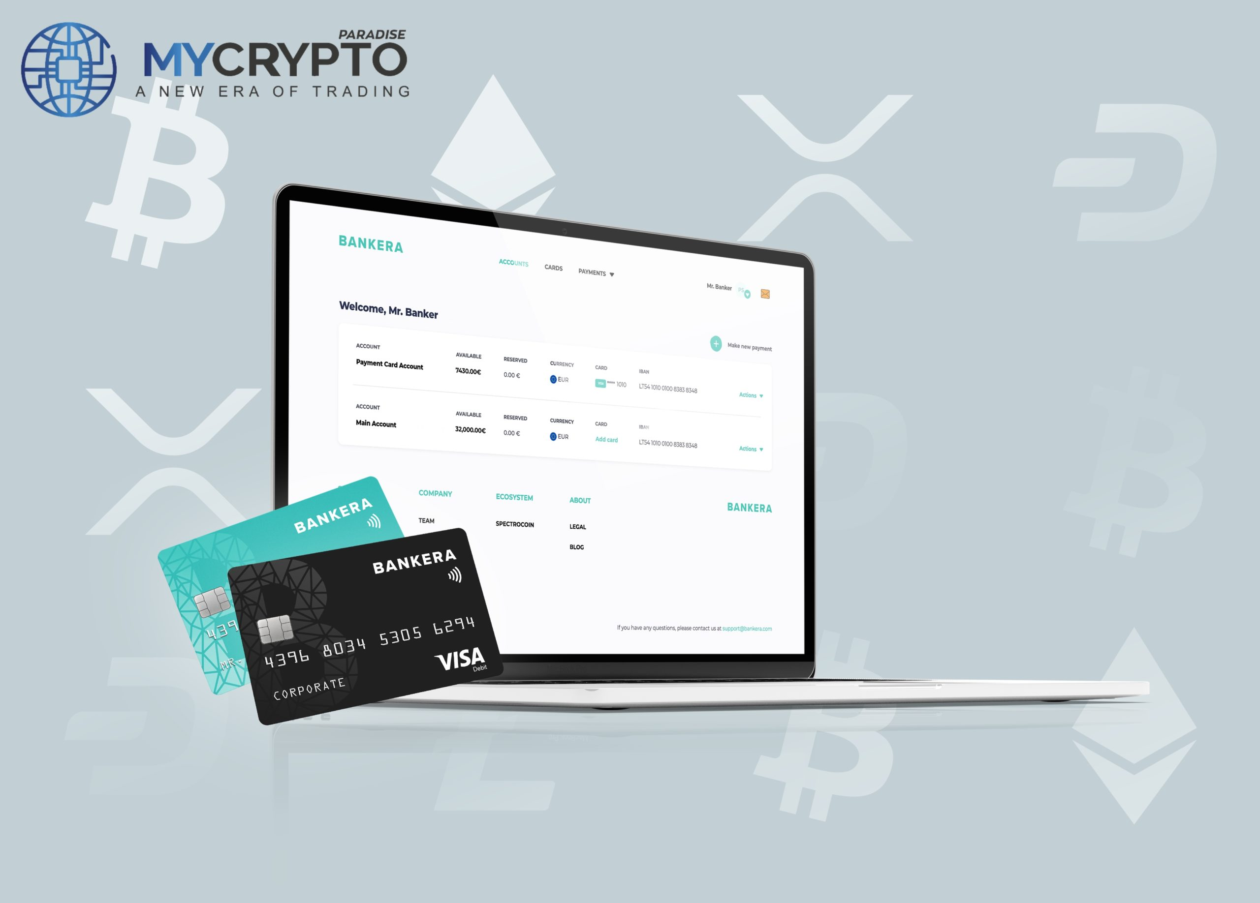 Pervesk-Powered Bankera Launches SEPA Instant Bank Transfers for Crypto Businesses