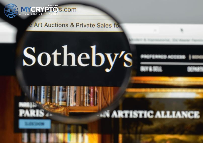 Sotheby's to start accepting BTC and ETH After Partnering with Coinbase