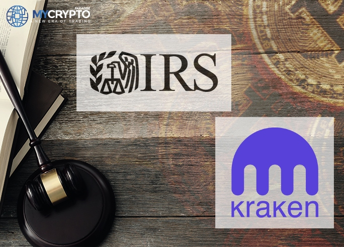 IRS To Obtain Information of Selected Users on Kraken